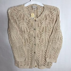 🎄50%OFF - Tommy Bahama handcrafted cardigan sz M